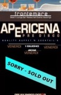 OPENING PARTY APERICENA AL FRONTEMARE – VENERDI 1 GIUGNO 21:30