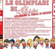LE OLIMPIADI DI DEDALUS – PARCO MONTECLARO – 3 GIUGNO