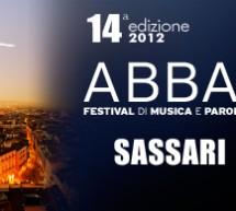 ABBABULA – FESTIVAL DI MUSICA E PAROLE D'AUTORE -SASSARI 10-15 MAGGIO