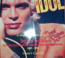 ROCK CONTEST '80 : BILLY IDOL – GRETA'S – 24-25 MAGGIO