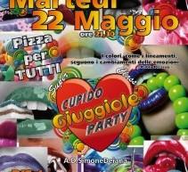 CUPIDO GIUGGIOLE PARTY – MARTEDI 22 MAGGIO