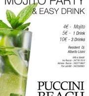 MOJITO PARTY – PUCCINI BEACH – 18 MAGGIO