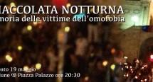 FIACCOLATA NOTTURNA CONTRO L'OMOFOBIA – CAGLIARI – 19 MAGGIO