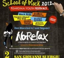 SARDINIA YOUTH FESTIVAL – SCHOOL OF ROCK – SAN GIOVANNI SUERGIU – 2 GIUGNO
