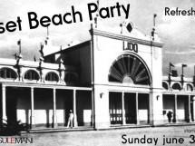SUNSET BEACH PARTY – IL LIDO – DOMENICA 3 GIUGNO