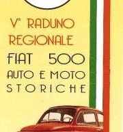 5° RADUNO REGIONALE FIAT 500 AUTO E MOTO STORICHE – COSSOINE 16-17 GIUGNO