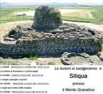 1° CORSO DI CIVILTA' NURAGICA – SILIQUA -DAL 27 GIUGNO