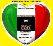 SUMMER PARTY FRONTE MARE – SPECIALE FINALE ITALIA-SPAGNA – DOMENICA 1 LUGLIO