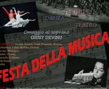 FESTA DELLA MUSICA – TEATRO LIRICO – GIOVEDI 21 GIUGNO
