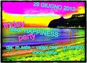 FRIDAY HAPPINESS – SARDINIA LASER SHOW – LIDO BEACH CLUB – VENERDI 29 GIUGNO