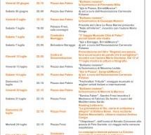 PALAU – UN'ESTATE DI EVENTI 2012 -FINO AL 28 LUGLIO
