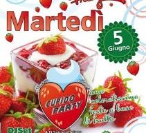 CUPIDO PARTY SUPERCLASS – PANNA E FRAGOLE – SETTE VIZI – MARTEDI 5 GIUGNO