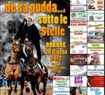 SA CURSA DE SA PUDDA SOTTO LE STELLE – BORORE – SABATO 30 GIUGNO