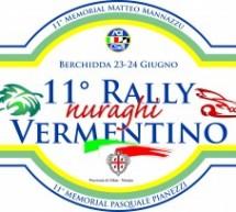 11° RALLY DEI NURAGHI E DEL VERMENTINO – BERCHIDDA – 23-24 GIUGNO