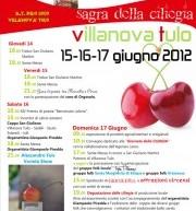 SAGRA DELLE CILIEGIE – VILLANOVATULO – 15-17 GIUGNO