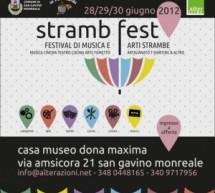 STRAMB FEST 2012 – SAN GAVINO MONREALE – 28-30 GIUGNO