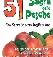 51° SAGRA DELLE PESCHE – SAN SPERATE – 12 -15 LUGLIO
