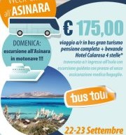 WEEKEND ALL'ASINARA – 22-23 SETTEMBRE