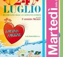CUPIDO PARTY SUPER CLASS – CAGLIARI – POETTO -PALM BEACH – MARTEDI 24 LUGLIO