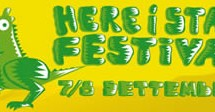 HERE I STAY FESTIVAL 2012 -7TH EDITION – MONASTIR – 7-8 SETTEMBRE