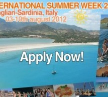INTERNATIONAL SUMMER WEEK – CAGLIARI – 3-10 AGOSTO