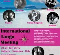 INTERNATIONAL TANGO MEETING – ALGHERO –  21-28 LUGLIO