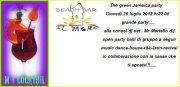 GREEN JAMAICA PARTY – COLOSTRAI – GIOVEDI 26 LUGLIO ORE 22
