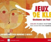 JEUX DE KLEE – MOSTRA LABORATORIO PER BAMBINI – CAGLIARI – 27 LUGLIO -16 SETTEMBRE