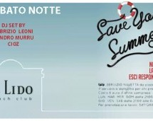 NO UNDER 30 SATURDAY NIGHT – LIDO BEACH CLUB – SABATO 14 LUGLIO