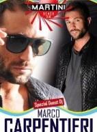 MARCO CARPENTIERI DJ – MARTINI BEACH CLUB – SANTA GIUSTA -SABATO 21 LUGLIO