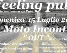 MOTO INCONTRO – FEELING PUB – PULA – DOMENICA 15 LUGLIO