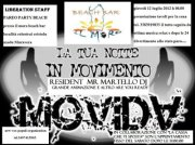 LIBERATION STAFF – PAREO PARTY – BEACH BAR MORO – GIOVEDI 12 LUGLIO