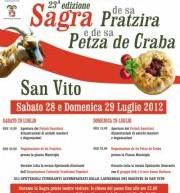 23° SAGRA DE SA PRATZIRA E DE SA PETZA DE CRABA – SAN VITO – 28-29 LUGLIO