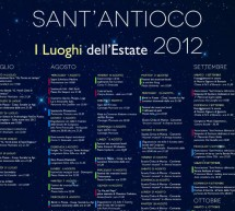 SANT'ANTIOCO ESTATE 2012 – FINO A SETTEMBRE
