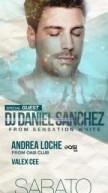 DANIEL SANCHEZ SPECIAL GUEST FROM SENSATION WHITE – SCIABECCO – SABATO 21 LUGLIO