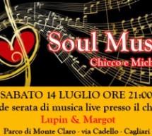 THE SOUL MUSIC LIVE – PARCO DI MONTECLARO – SABATO 14 LUGLIO