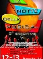 LA NOTTE DELLA MUSICArts – TORTOLI – DOMENICA 12 AGOSTO