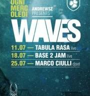 WAVES – ANDREWSZ PRES. MARCO CIULLI DJ SET -OLD SQUARE – GIOVEDI 26 LUGLIO