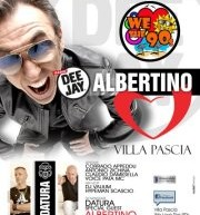OPENING SEASON VILLA PASCIA – DJ ALBERTINO – VENERDI 6 LUGLIO