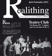 REALITHING – CAGLIARI – CLUB THEATRE – EVERY THURSDAY FROM SEPTEMBER 6