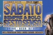 SESTO SENSO DISCO CLUB – SABATO 28 LUGLIO