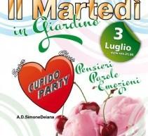 CUPIDO PARTY SUPER CLASS – SETTEVIZI – MARTEDI 3 LUGLIO
