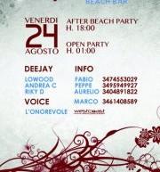 AQUAMARE BEACH PARTY – AQUARIUM – CALASETTA – VENERDI 24 AGOSTO