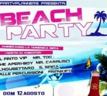 BEACH PARTY MIRTO DRINK – POETTO – MALIBU' – DOMENICA 12 AGOSTO