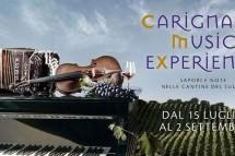 CARIGNANO MUSIC EXPERIENCE – SANTADI – DOMENICA 26 AGOSTO