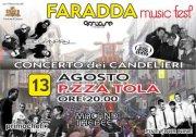 FARADDA MUSIC FEST – SASSARI – LUNEDI 13 AGOSTO
