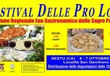 FESTIVAL DELLE PRO LOCO – 8° RADUNO ENOGASTRONOMICO – SESTU – 6-7 OTTOBRE