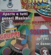 GOLFO ARANCI MUSIC FESTIVAL – GOLFO ARANCI – 24-25 AGOSTO