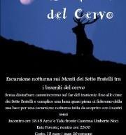 LA NOTTE DEL CERVO- 31 AGOSTO – 1-2 SETTEMBRE