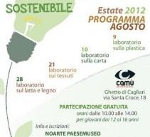 LABORATORI DI RICREATIVITA' SOSTENIBILE – CAGLIARI – GHETTO – AGOSTO 2012